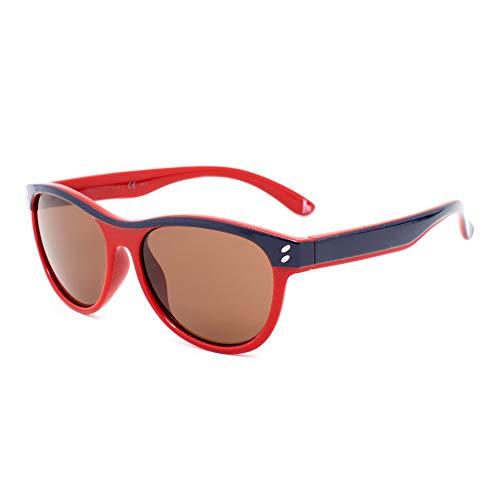Stella McCartney SK0004S-008 Gafas, azul - rojo, 48/14/130 Unisex niños