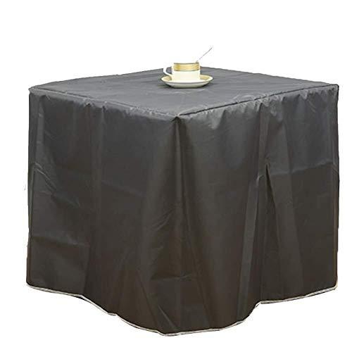 KEANCH Arredamento Equipaggiamento Tettuccio Manicotto Protettivo, for Le copertine Patio mobili di Protezione (Color : Black, Size : 325×208×58cm)