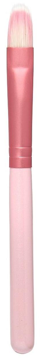 かごクレデンシャル幻滅する熊野筆 Purin 3D型アイシャドゥブラシL(ピンク) KOYUDO Collection