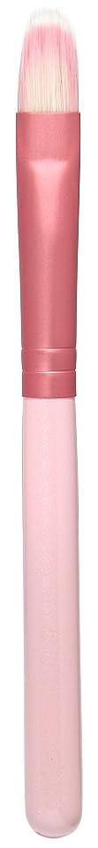 本当のことを言うと快適コンクリート熊野筆 Purin 3D型アイシャドゥブラシL(ピンク) KOYUDO Collection