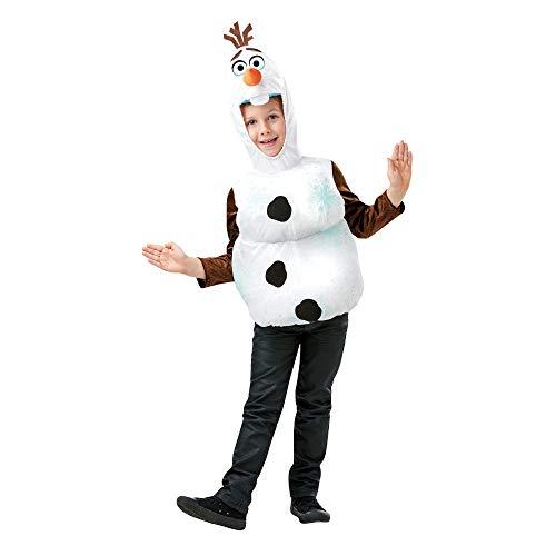 Rubie's 300509 3-4 Disney Die Eiskönigin 2 Faschingskostüme, Unisex Kinder, mehrfarbig