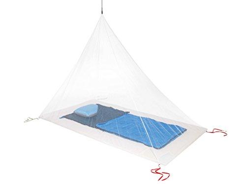 Cocoon Moskitonetz Travel Net Double Ultralight - Pyramiden-Indoornetz für Zwei Personen