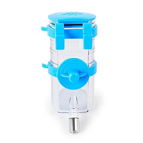 Xia jie sheng huo guan Dispensador de botella de agua para hámster, bebedor, alimentador colgante para mascotas, perro, cobaya, ardilla, conejo, cabeza potable