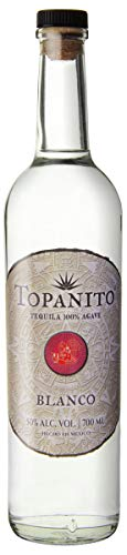 Topanito Blanco 100 Prozent Agave Tequila (1 x 0.7 l), 1302