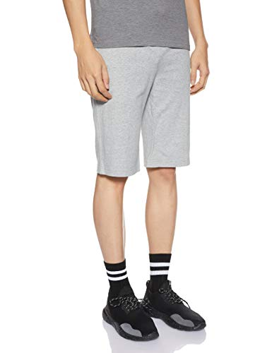 NIKE Herren Nsw Jsy Club Trainingsshorts - Grau (Dark Grey Heather/White) , L