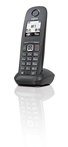 Gigaset A540 CAT - Telefone (DECT-Telefon, 50 m, 300 m, Tisch/Wand, Anthrazit, Schwarz, Digital)