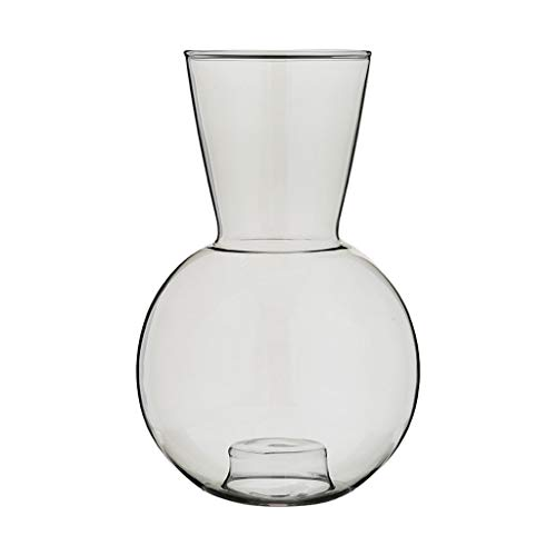 Vases for Flowers Vase Creative Transparent Green and Gray Glass Small Vases Can Be Used As Decorative Ornaments for Creative Candle Holders Suitable for Bedroom and Office Vases Vases and Ornaments