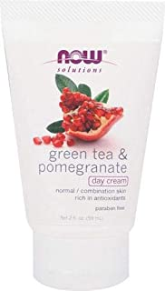 Green Tea & Pomegranate Day Cream, 2 fl oz Cream by by NOW Foods