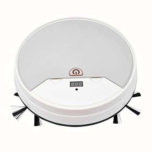 Tutuba Smart Robot Vacuum, 3-in-1 Robot Sweeper/Vacuum/Mop, Premium Robot Vacuum Cleaner with Water Storage Box,1800Pa Powerful Suction, Good for Pet Hair, Hard Floor and Low Pile Carpets Dining Features Kitchen Robotic Vacuums