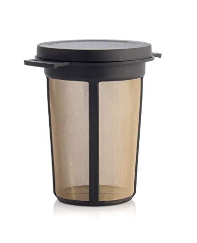 Dauerfilter für Tee Edelstahl/Kunststoff Teesieb Teenetz Teefilter Teeli® Best L