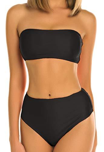 Bikini Dos Estilos Mujer Push-up Acolchado Bra Trajes