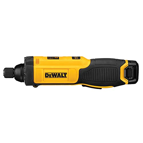 Product Image of the DEWALT 8V MAX Cordless Screwdriver Kit, Gyroscopic, 1 Battery, Electric (DCF682N1)