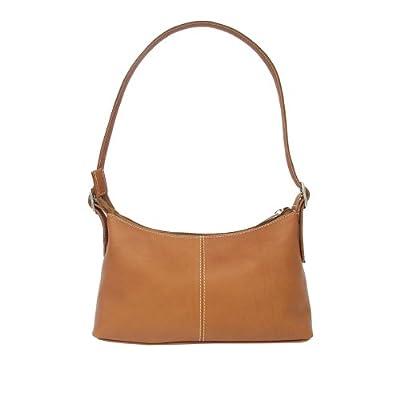 Piel Leather Shoulder Mini, Saddle, One Size