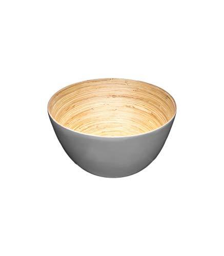 Secret de Gourmet - Saladier bambou gris 17cm