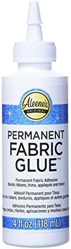 Aleene's 24914 Permanent Fabric Glue 4oz