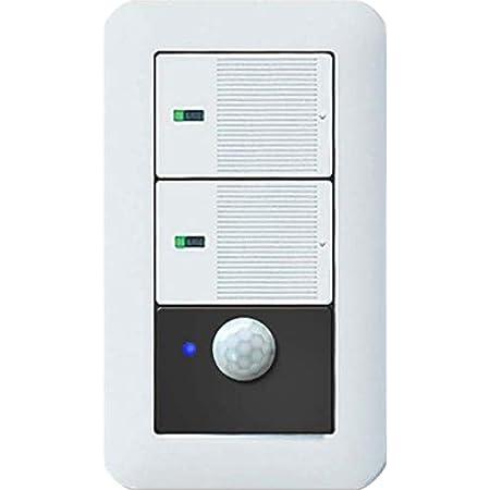 """手でスイッチを入れなくてもOK!新型コロナ感染対策にも最適なスマート""""壁スイッチ""""『Link-S2』/既存の壁スイッチと交換+Wi-Fiでご自宅がスマートホーム!IoT化!/安心の日本メーカー製です。産業用・業務用照明機器大手メーカーである岩崎電気(株)製【PSE・技適取得製品】※Amazon Alexa他スマートスピーカー対応"""
