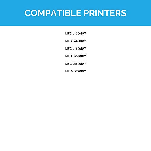 LD Compatible Ink Cartridge Replacement for Brother LC205Y Super High Yield (Yellow) Photo #2