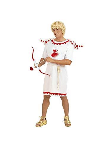 WIDMANN 74573Señor Disfraz Amor glücksbote, Color Blanco/Rojo