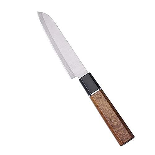 Cuchillo de pelado de frutas portátil Cuchillo de cocina de acero inoxidable Verduras Cortar Mini CHEF CUCHILLO ATCINTE CAMPO DE BBQ CAMPING (Color : Fruit Knife)
