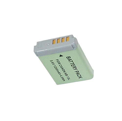 DishyKooker Batería para cámara digital Can-on PowerShot G5 X G5X G7 X Mark II G7X G9 X G9 X G9X SX720 HS (1250 mAh)