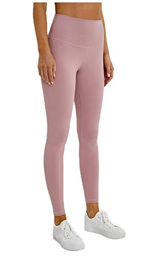 Damen-Sporthose mit hoher Taille, für Fitness, Workout, dünne Tenths, Lounge, Yoga Gr. L, As7