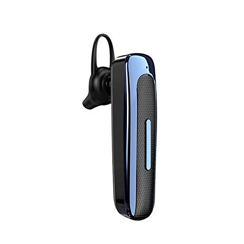 Auriculares Bluetooth manos libres, auriculares inalámbricos, auriculares estéreo con gancho para oído, adecuado para el trabajo, conducir y viajar