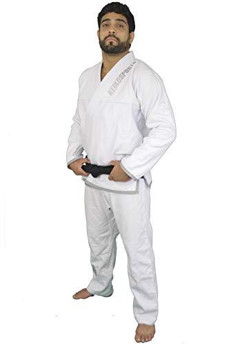 Kimono Jiu Jitsu Série Limitada Keiko Sports Unissex A2 Branco