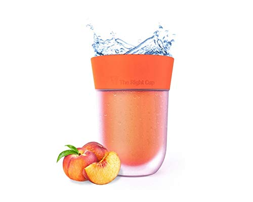 Scent Flavored Peach cup - The cure for boring water!
