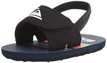 Quiksilver Baby Boys Slide Sandal Blue/Blue/Blue Molokai Layback Infant 1