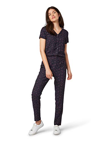 TOM TAILOR dames jumpsuit Kurzärmliger