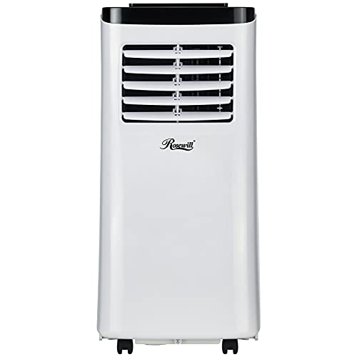 Rosewill Portable Air Conditioner 8000 BTU, AC Fan & Dehumidifier 3-in-1 Cool/Fan/Dehumidify...