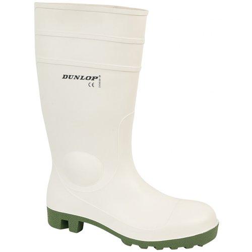 Dunlop - Botas para mujer Blanco blanco 36 EUR