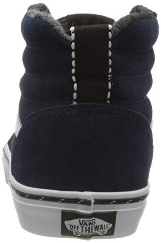 Vans Ward Hi Suede, Sneaker, Outdoor Dress Blues White, 34 EU