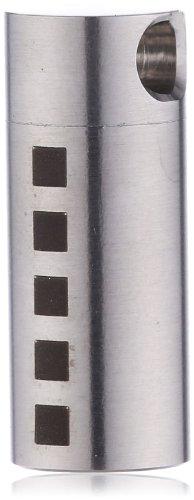 Teno Unisex-Anhänger MemoRo Zylinder verschließbar, Dekor 5 Quadrate 049.2000.L2