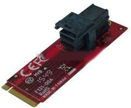 MF-DT131 (M.2 Module with miniSAS HD 36P to U.2 PCIe-NVMe SSD)