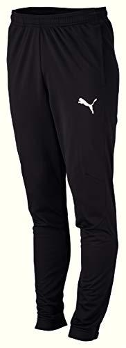 Puma Liga Sideline Poly Pant Core Pantalons Homme, Black White, M