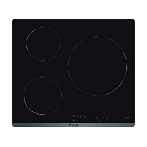 Plaque induction Brandt BPI6314B - 3 foyers