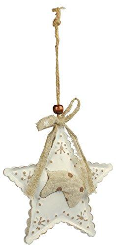 Blue Bug in stella ciondolo cavallo - decorazione natalizia