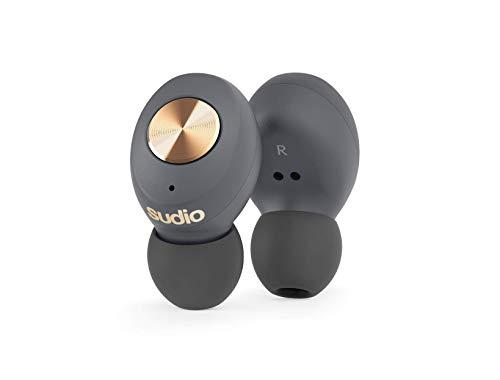 【Bluetooth5.0 完全ワイヤレスイヤホン】[国内正規代理店販売品]Sudio/TOLV 《トルブ グレー》 ハイクオリティサウンド/自動ペアリング/スウェーデンブランド