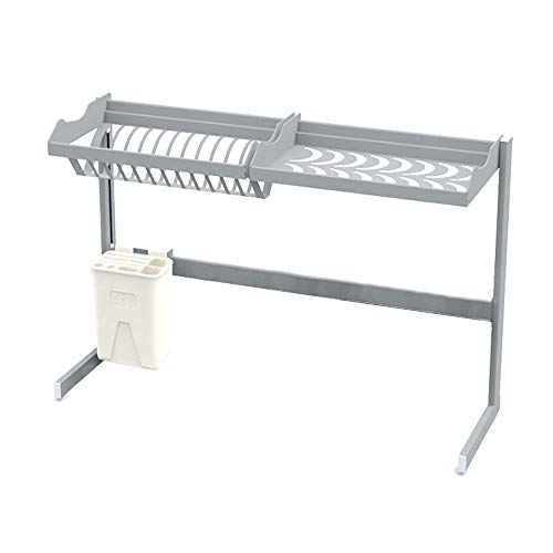 ZTMN Schaalrek Keuken plank zwembad wastafel boven opslag rek keuken benodigdheden kom lepel drain rek droog ruimte besparen
