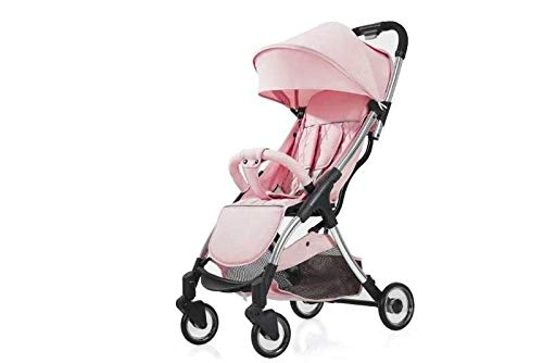 HUKN 5.8kg Light Baby Stroller Portable Umbrella Baby Carriage Sit and Stead Down PRAM LURUXY Newborn Travel Coche (Color : 5)