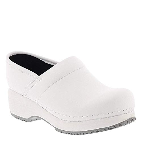Skechers Work Clog SR Slip Resistant Womens Shoes White 7.5