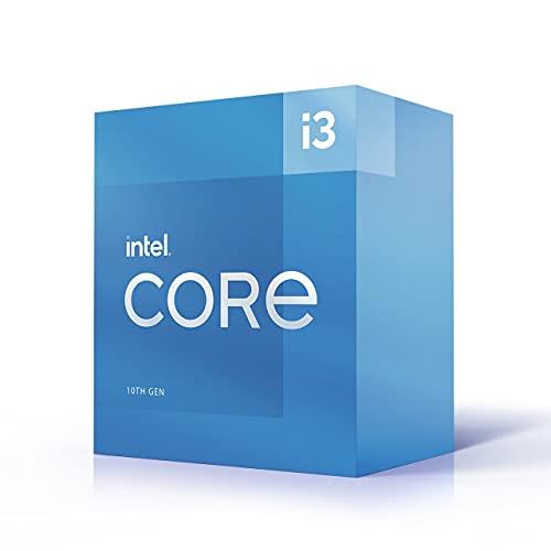 Intel Core i3-10105 11. Generation Desktop Prozessor (Basistakt: 3.7GHz Tuboboost: 4.4GHz, 4 Kerne, LGA1200) BX8070110105