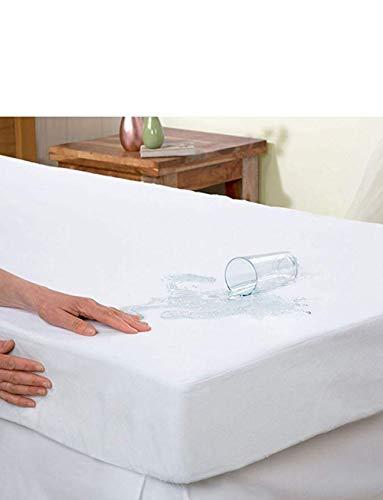 Waterbed beschermhoes 180-200 x 200-220 cm stof- en mijtbescherming