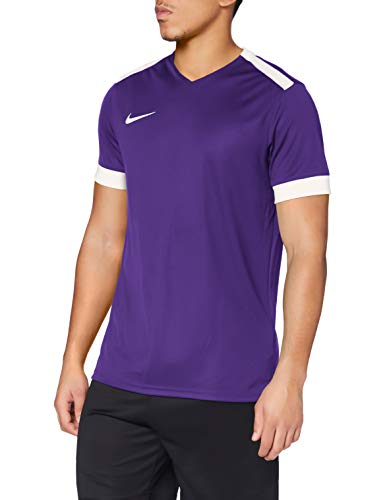 NIKE M NK Dry Prk Drby II JSY SS T-Shirt, Hombre, Court Purp
