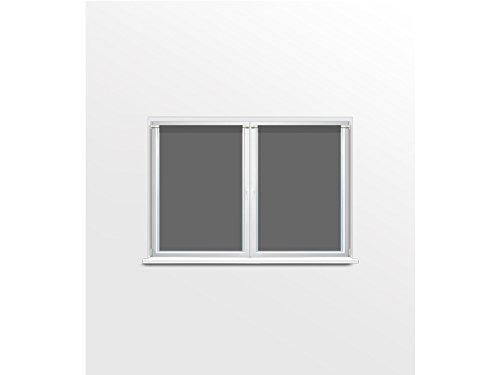 Soleil docre Paire de brise bise 45x90 MAUD gris 45x90 cm Polyester