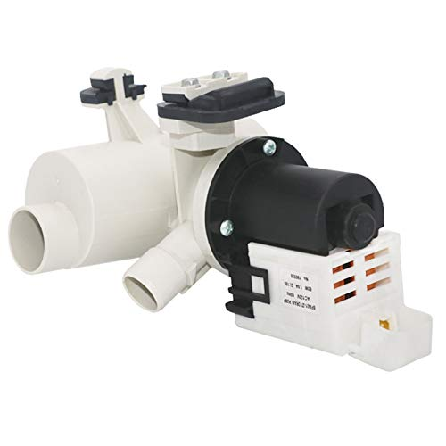 OEM W10130913 Washer Drain Pump Assembly By Primeswift Replacement for Washing Machine WPW10730972, W10730972, 8540024,W10183434