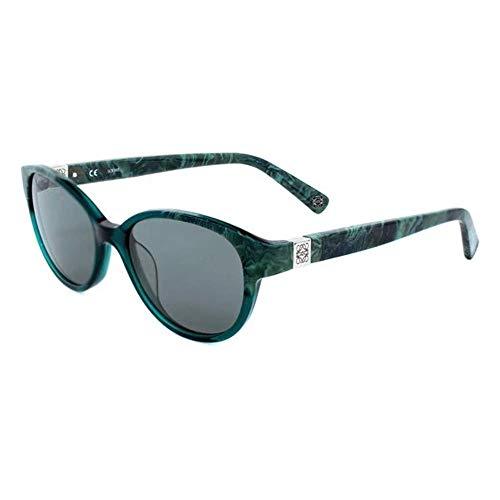 Loewe SLW920500860 Gafas, GREEN MARBLED, 50x19x140 para Mujer