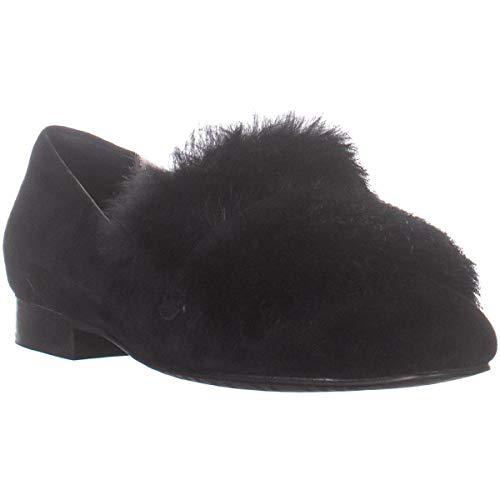 Donald J Pliner Women's Lilian Loafer Flat, Black, 6.5 M US