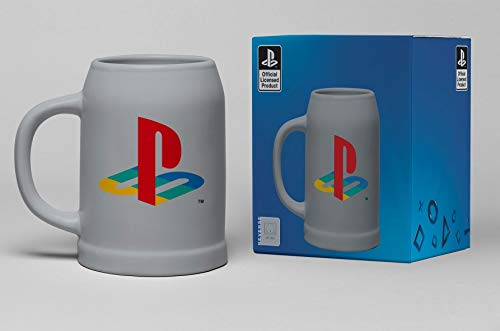 Playstation Classic Unisex Bierkrug Mehrfarbig Keramik Fan-Merch, Gaming, Retrogaming